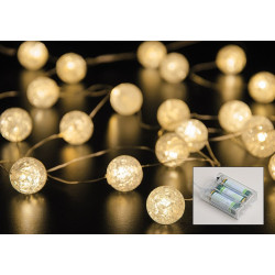 LED wire string, 20 balls,...