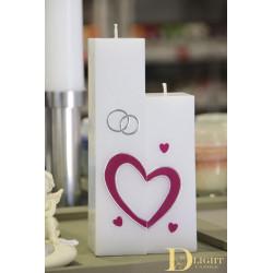 Wedding Candle, Set of 2