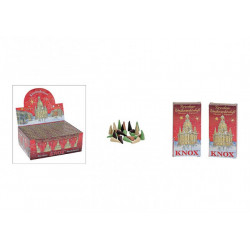 Incense cones, set of 24