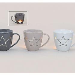 Burner, ceramic, mug