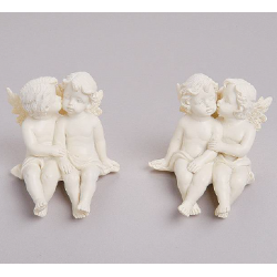 Angels, sitting