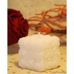 Rose cube, 5x5cm