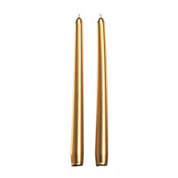 Dinner Taper Candle, gold